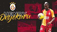 Onyekuru Galatasaray'a imzayı attı