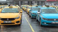 Turkuaz taksi şoförlerinden İBB'ye başvuru: Sarıya dönmek istiyorlar