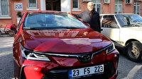 Şehit polis Fethi Sekin'in babasına otomobil hediye edildi