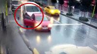 İnanılmaz kazada ölümden saniyelerle kurtuldu
