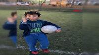 Futbol tutkunu çocuğun çevre duyarlılığı ilgi çekti