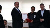 Bakan Gül'den Resulayn şehidinin ailesine taziye ziyareti: Türk bayrağına sarılı Kur'an hediye etti