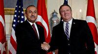 Dışişleri Bakanı Çavuşoğlu ABD'li meslektaşıyla görüştü