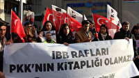 İBB'nin Demirtaş'ın kitabını satışa çıkarması protesto edildi