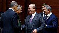 Çavuşoğlu ve Akar'ın Rus mevkidaşları ile kritik Libya toplantısı başladı