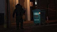 Gaziantep'te şüpheli paket fünye ile patlatıldı