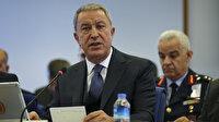 Bakanı Akar'dan şehit askerler için taziye mesajı