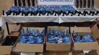 Konya'da kargo aracında 510 kaçak silahın ele geçirildi: 4 zanlıdan 3'ü tutuklandı