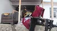 Eksi 15 derecede evsiz kaldılar: Gül ailesi yardım bekliyor
