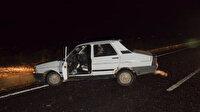 Şanlıurfa'da bomba yüklü araç böyle imha edildi