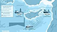 Yunanistan'ın işgal haritası yırtıldı