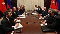 Cumhurbaşkanı Erdoğan- Putin görüşmesi sona erdi