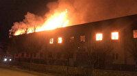 Tokat'taki tarihi handa yangın