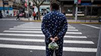 Çin'de sokakta pijama giyenler ifşa edildi: Halkı utandırıyorsunuz
