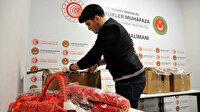 İstanbul Havalimanı'nda kına malzemesi kolisinden uyuşturucu çıktı: Sirkeci'den kargoya verip Hakkari'den kaçarken yakalandılar