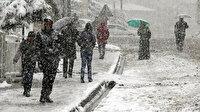 Meteoroloji'den soğuk ve yağışlı hava uyarısı: İstanbul'da yarın Anadolu Yakası'na dikkat