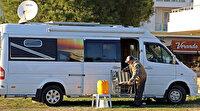 Antalya'da 5 yıldızlı karavan tatili kıskandırıyor