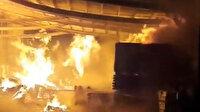Sakarya'da kereste atölyesi alev alev yandı: 3 saatlik müdahale sonrası söndürüldü