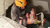Çifte mucize: 2,5 yaşındaki çocuk ve annesi sağ olarak kurtarıldı