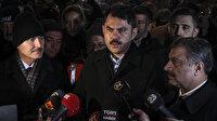 Çevre ve Şehircilik Bakanı Kurum: Yaraları en kısa sürede saracağız