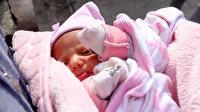 40 günlük bebeği kapı önüne bıraktı: Babasına ders vermek istedim