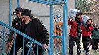 Depremden etkilenen Süryani kilisesine yardım ulaştırıldı: Biz bütün Türkiye'ye dua ediyoruz