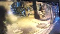 Soma Termik Santrali'nde deprem anı kameraya yansıdı