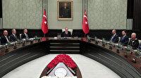 Milli Güvenlik Kurulu Erdoğan başkanlığında toplandı