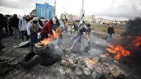 Filistinliler Trump'ın sözde barış planını protesto etti