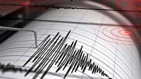 Akdeniz'de Marmaris açıklarında peş peşe depremler