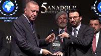 TVNET Yılın En İyi Belgesel Kanalı seçildi: Ödülü Cumhurbaşkanı Erdoğan takdim etti