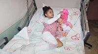 4 yaşındaki Hira Nur depremde sobayla devrilen sıcak su ile yandı: His kaybı oluştu