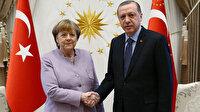 Erdoğan, Merkel ile görüştü: İkili Suriye ve Libya'daki son gelişmeleri ele aldı