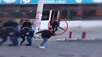 Şehir göbeğinde pompalı tüfekle terör estirdiler