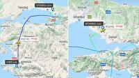 Sabiha Gökçen Havalimanı'nda pistten çıkan uçağın radar görüntüleri ortaya çıktı