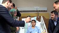 Cumhurbaşkanı Erdoğan enkaz altından yaralı kurtarılan çocukla telefonda görüştü