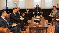 Dışişleri Bakan Yardımcısı Kıran, Çin'in Ankara Büyükelçisi Deng'i kabul etti