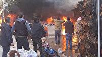 MSB: Afrin'deki patlamada 8 sivil hayatını kaybetti, 7 kişi yaralandı