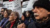 Mecidiyeköy'de toplanan bir grup İETT'ye yapılan zammı protesto etti