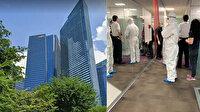 Dev bankada koronavirsü paniği: Tüm çalışanlar tahliye edildi