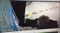 İstanbul Havalimanı'nda bir yolcu otopark ödeme cihazını tekmeledi