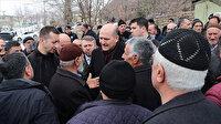 Bakan Soylu Elazığ'da depremzedelerle buluştu: Emrinize amadeyiz