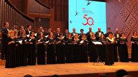 TRT Ankara Radyosu Çoksesli Korosu 50'nci yıl dönümü galası