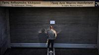 Yunanistan'da hayat durdu: Kamu çalışanları 24 saatlik greve gitti