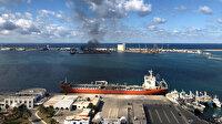 Hafter güçleri Trablus Limanı'na roketle saldırdı