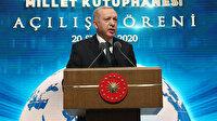 Cumhurbaşkanı Erdoğan Millet Kütüphanesi'nin açılışında konuştu: İstanbul'u kıskandıracak bir kütüphane olacak