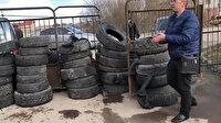 Çin'den gelen kişileri istemeyen Ukraynalılar hastane önünde barikat kurdu