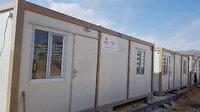 TDV'den depremzede aileler için konteyner ev: Milletimizin emanetlerini güvenli bir şekilde ihtiyaç sahiplerine ulaştırdık