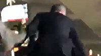 Fenerbahçe Başkanı Ali Koç edilen küfürler sonrası tribüne atladı