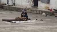 Esed'in bombalarından kaçıp hapishaneye sığındılar